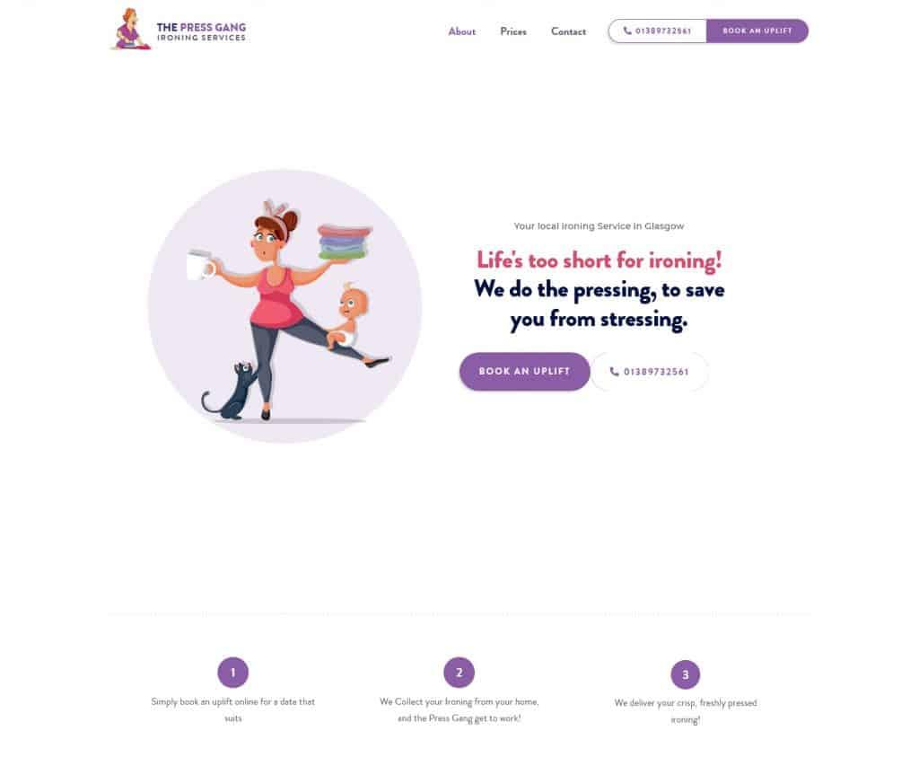 webdesigners in Dumbarton