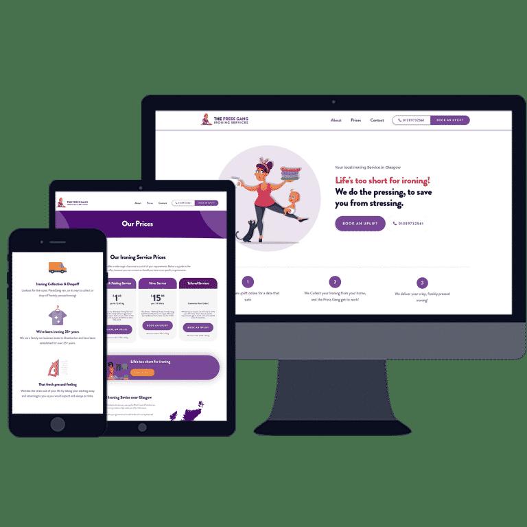 web designers in Dumbarton