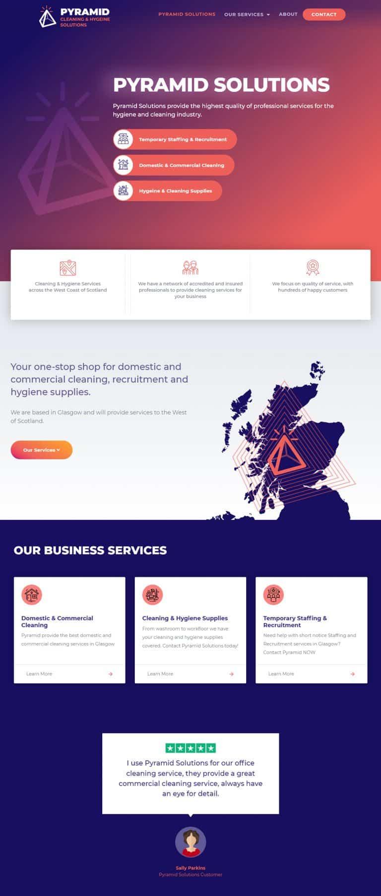 website design in Glasgow