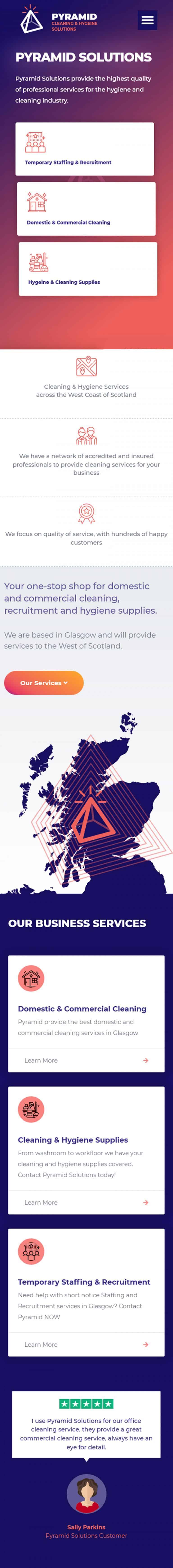 mobile web developer in Glasgow