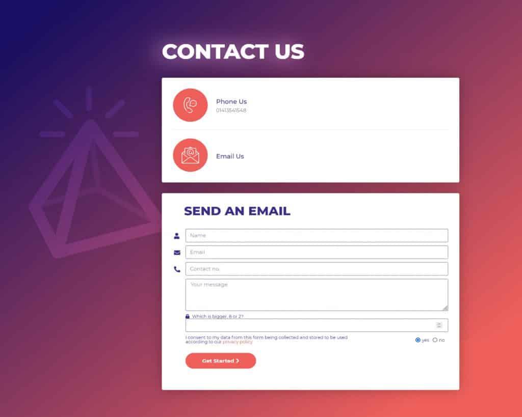web design company in Glasgow