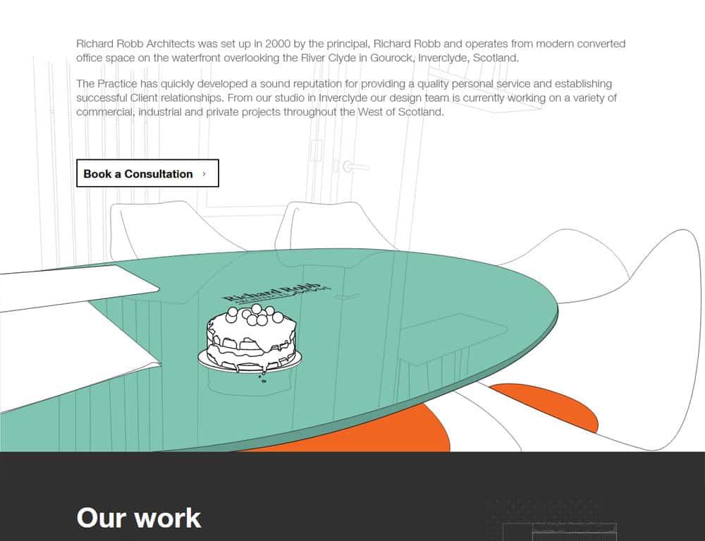 Artwork and illustration for portfolio website