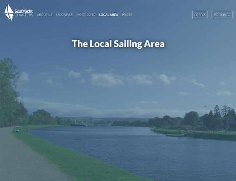 budget web design for a new tourism business