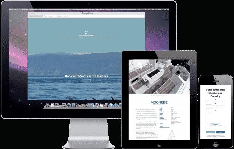 Responsive website design for tourism businesses