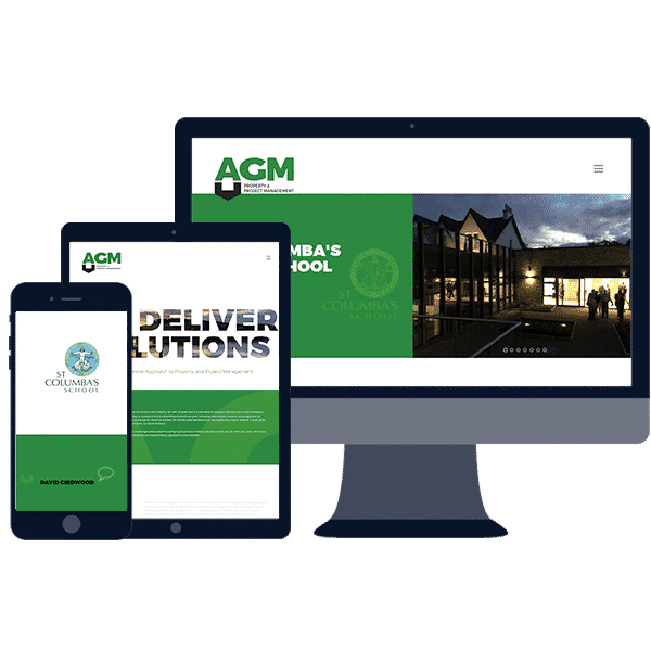 mobile responsive web design for construction builders