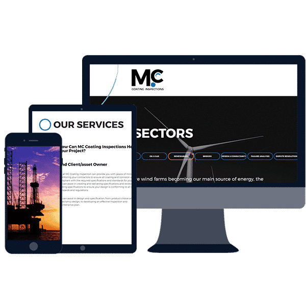 responsive website design for industry businesses