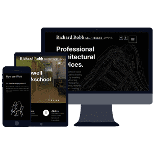 responsive website design for professionals