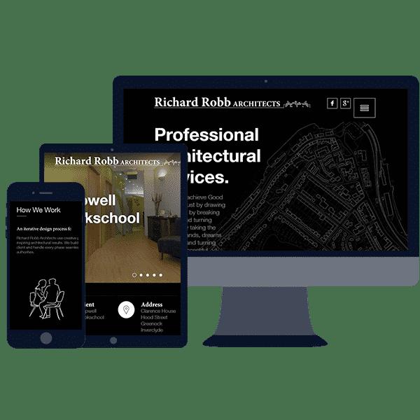 responsive website design for professionals