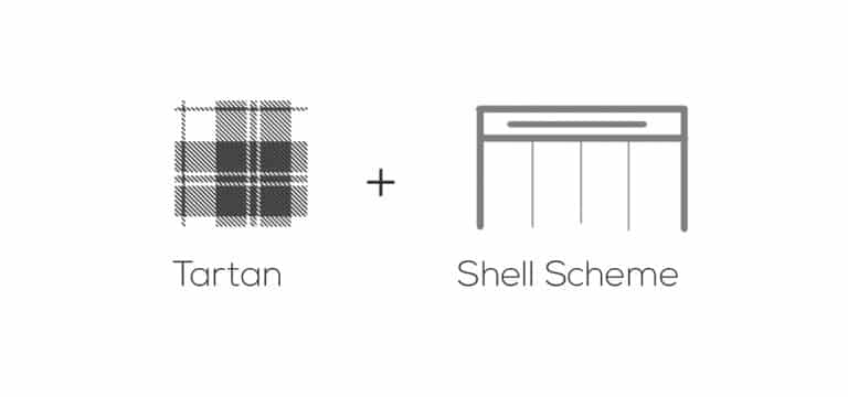 logo concept for Shell Scheme Scotland branding