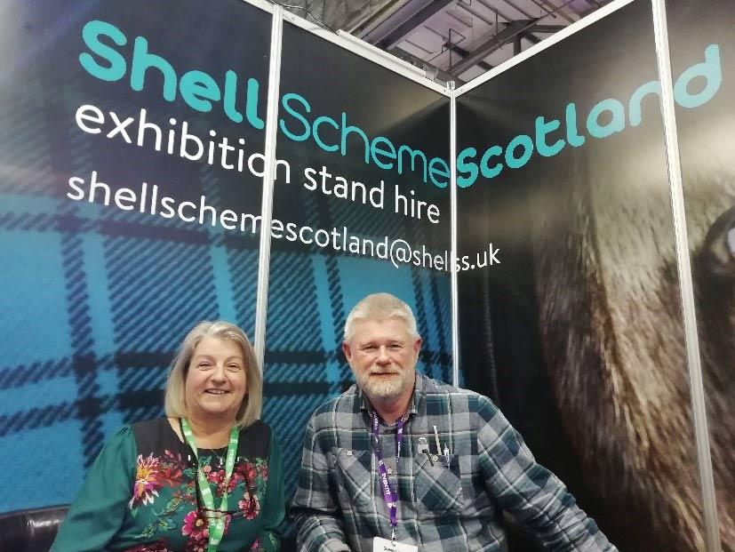 tartan branding inspiration for Shell Scheme Scotland