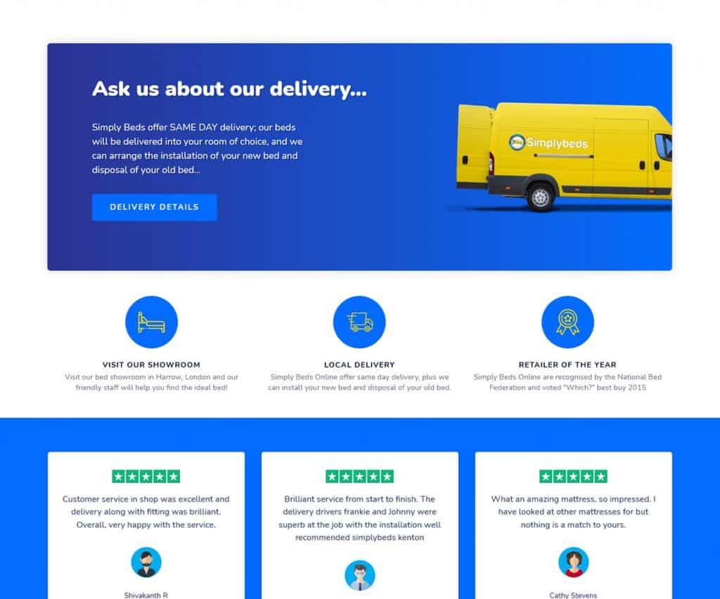 web designers for E-Commerce store London