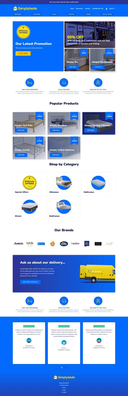 E-Commerce website designers