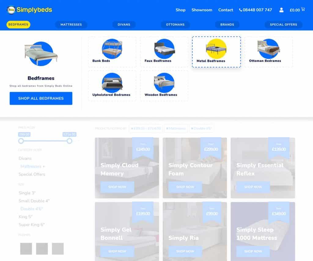 E-Commerce website in London