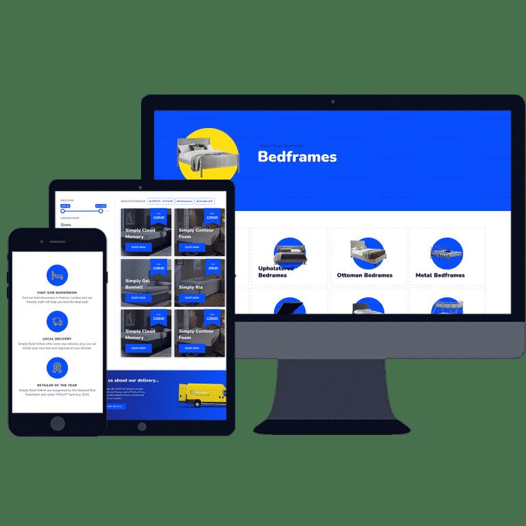 new mobile responsive E-Commerce shop