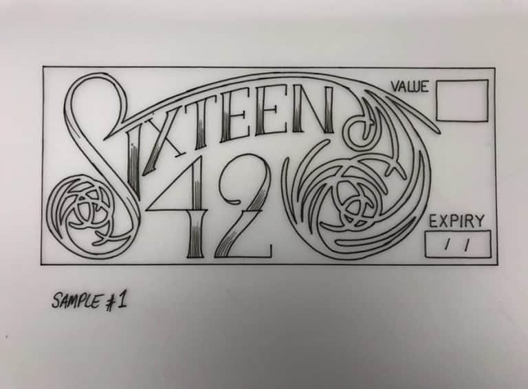 logo sketch for tattoo studio