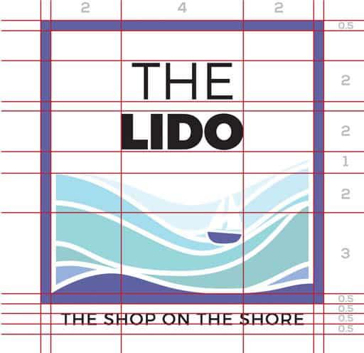 logo grid for community brand