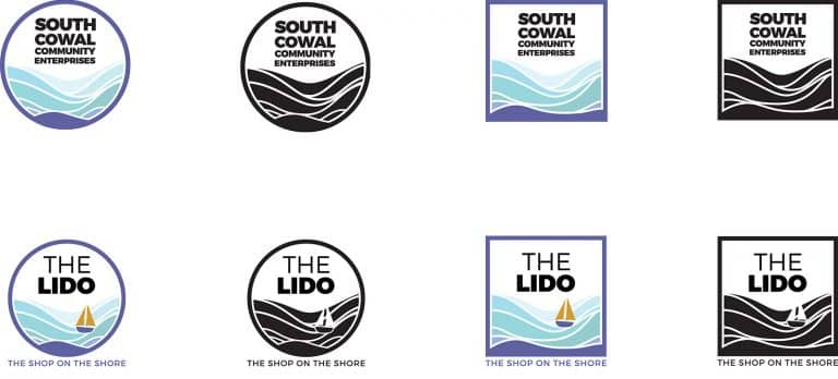 design of logos for community brand