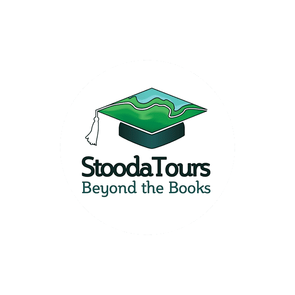 design of brand identity for student tours company