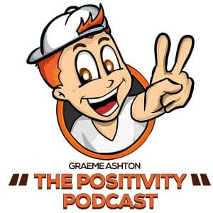 design of cartoon logo for the Postivity Podcast