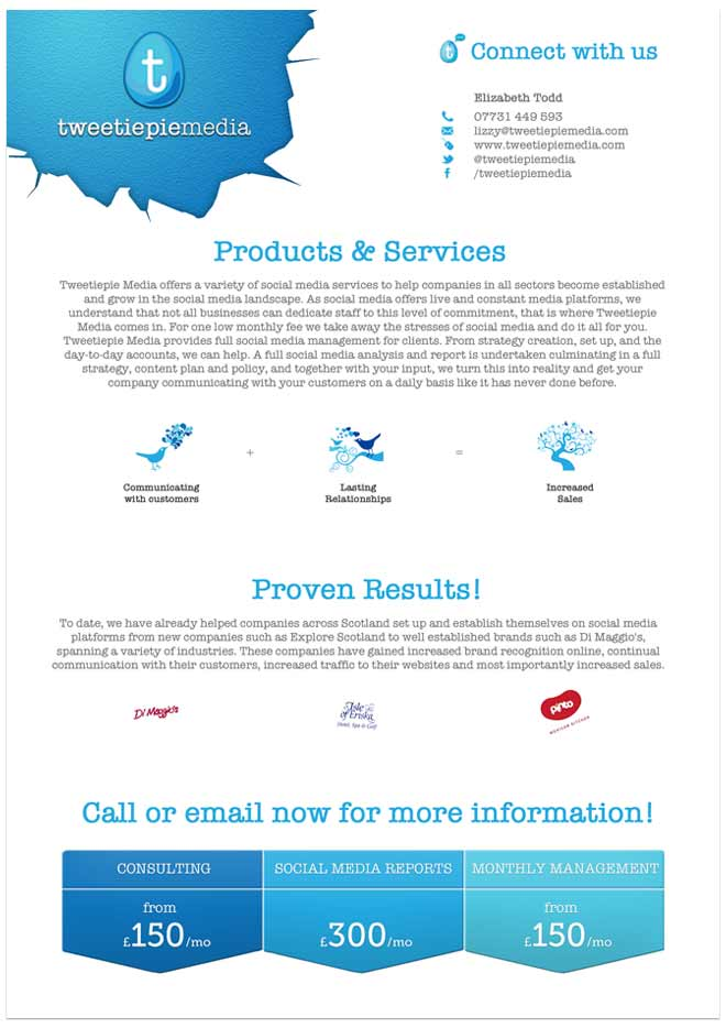 flyer design for marketing company