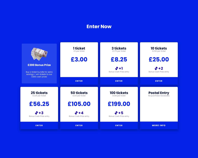 online raffle lottery website developers