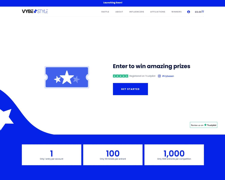 custom competition website designers
