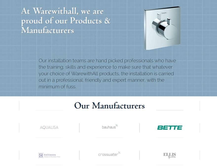 website design for brochure website
