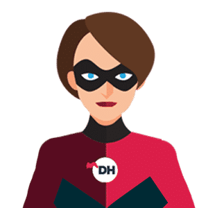 female business superhero