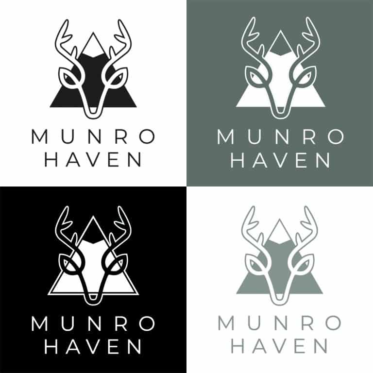 logo design for holiday accommodation in Glasgow