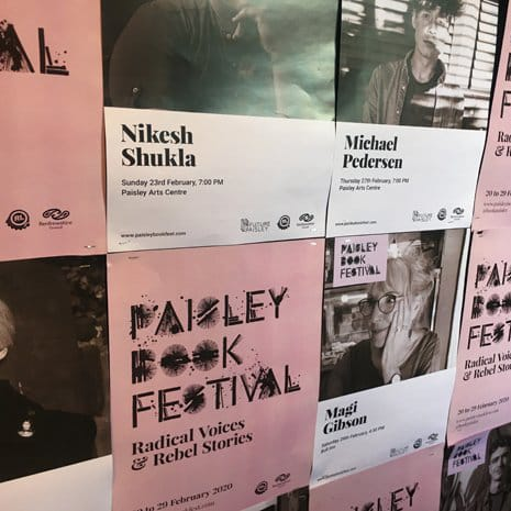 web design services for the paisley book festival