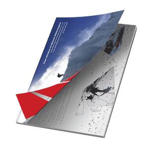 Brochure for Kilimanjaro climbing company
