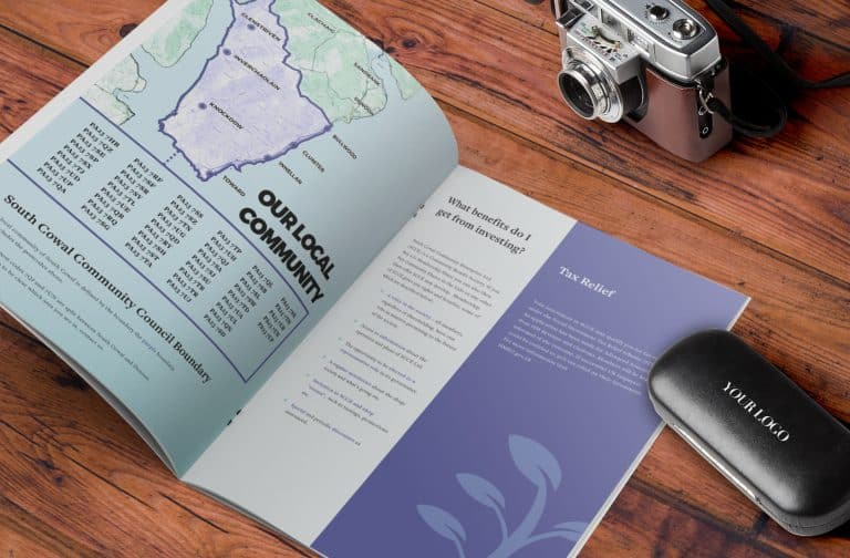 design of brochure