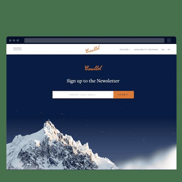 marketing newsletter signup form