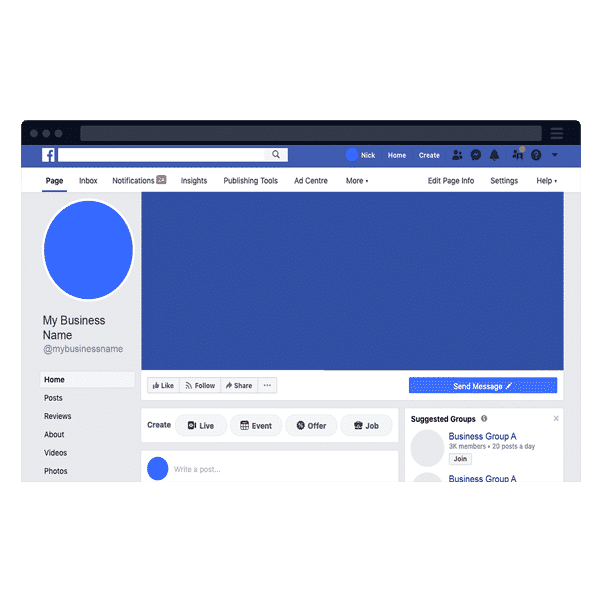 facebook marketing and management