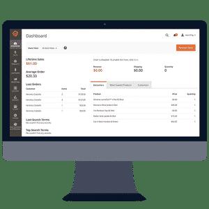 Websites built on Magento E-Commerce platform