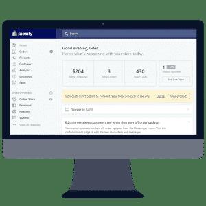 Websites built on Shopify E-Commerce platform