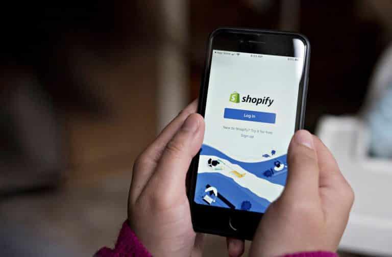 Shopify E-Commerce websites on mobile