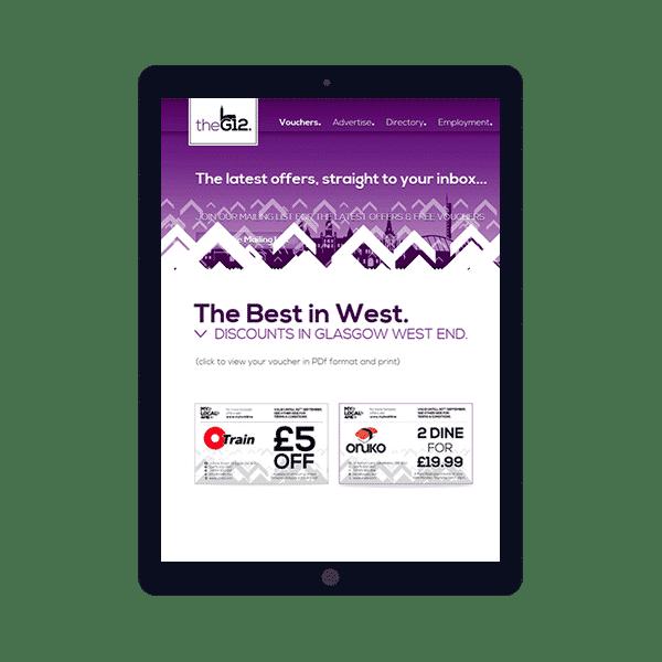 E-Commerce voucher site
