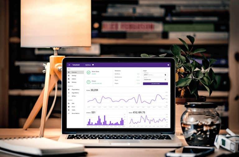 WooCommerce E-Commerce platform dashboard