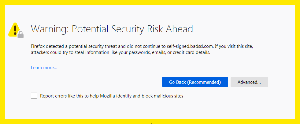 Site insecure warning without an SSL Certificate